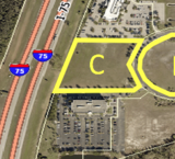I-75 Access and Visibility  For Office Development Opportunities