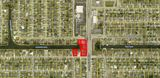 Cape Coral signalized commercial corner